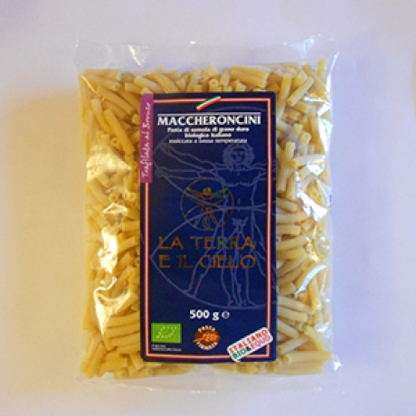 Maccheroncini di semola da 3 kg