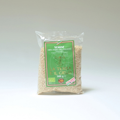 Semini di farro semintegrale (pastina)
