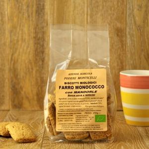 Biscotti monococco alla mandorla