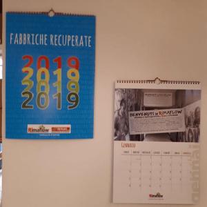 Calendario 2019 delle fabbriche recuperate