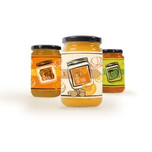 Confettura di zucca e amaretti - 340 gr