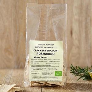 Crackers di grano tenero e rosmarino