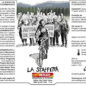 Birra La Staffetta Fuorimercato (chiara)
